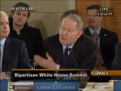 Lamar Alexander Gives Republican Health Care Remarks at White House Summit