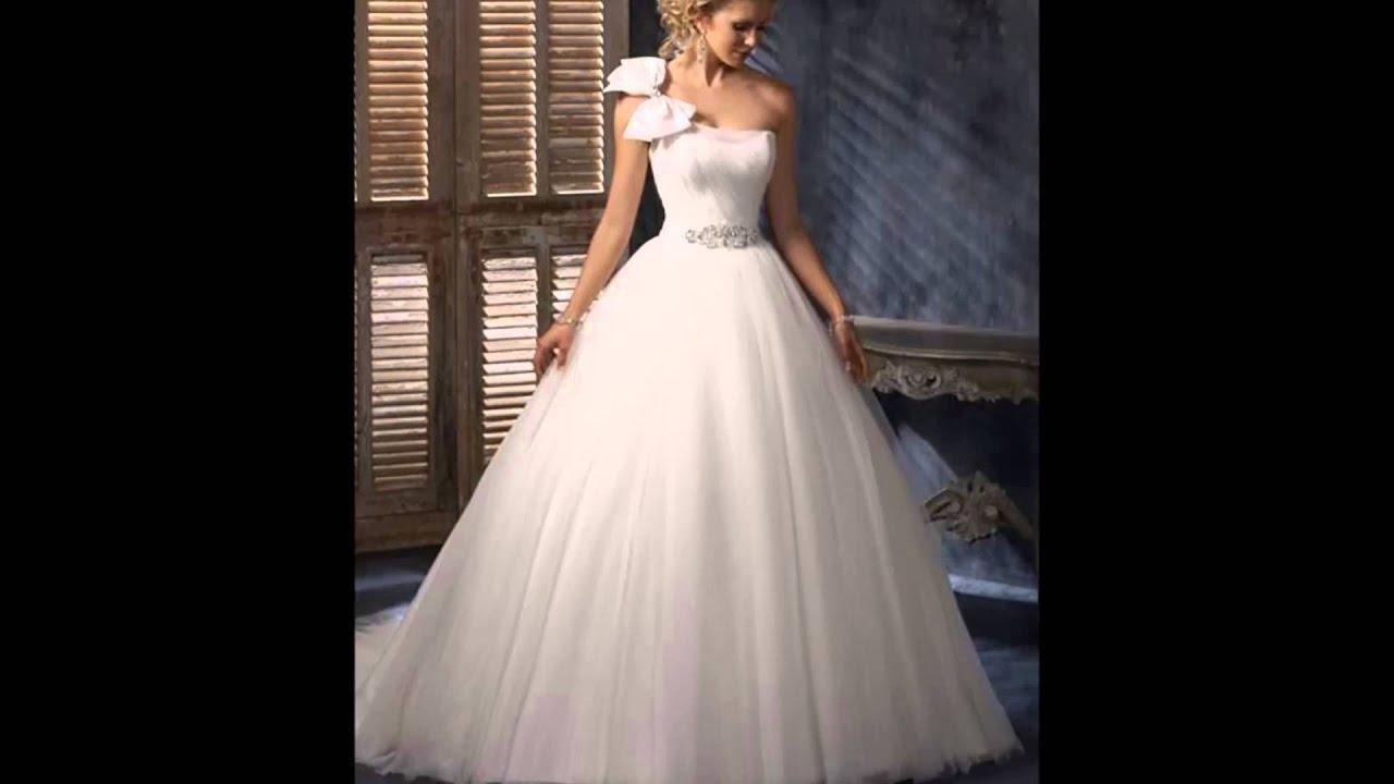 f7d330d506269 كولكشن فساتين زفاف 2015 (الجزء الثاني) - YouTube