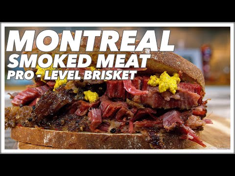 Montreal Smoked Meat At Home Recipe Cured Smoked Brisket