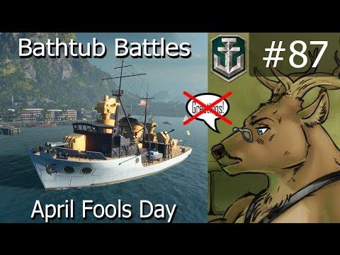 WoWS 87   Bathtub Battle   No Comment