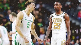 NBA Draft Prospects Chris Duarte \u0026 McKinley Wright Go At Each Other | Full Highlights Oregon vs CU