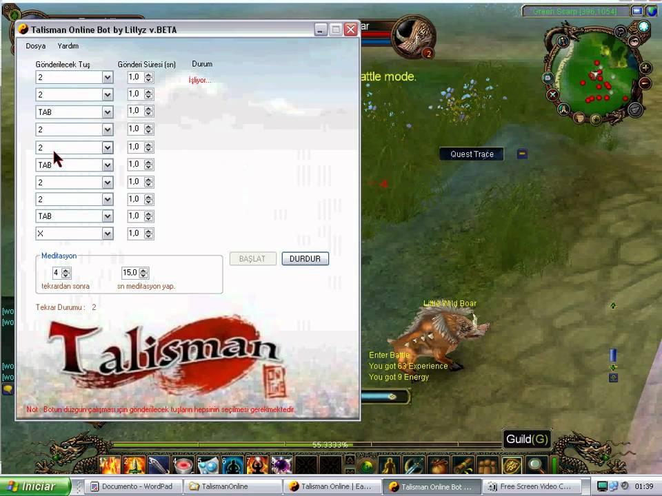 bot uopilot talisman online download