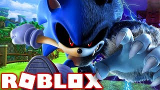 BECOMING EVIL SONIC.EXE IN ROBLOX | Roblox - Sonic Mania (Halloween)