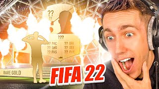 MY FIRST FIFA 22 PACK OPENING!!