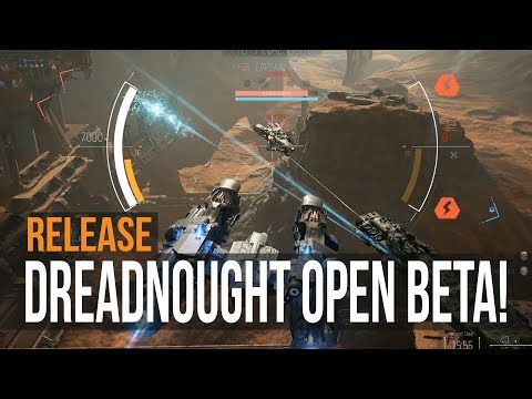 Dreadnought - Open Beta Release! (Co-Op Gameplay)