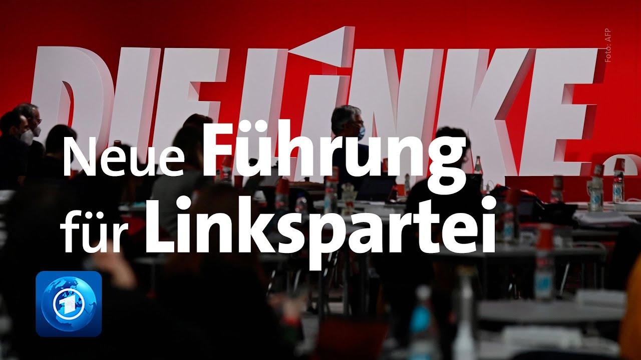 Parteitag: Linkspartei gibt sich eine neue Führung