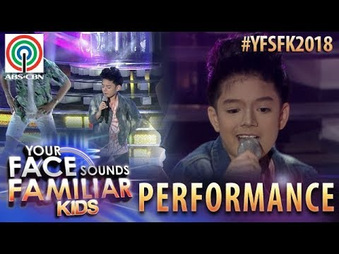Your Face Sounds Familiar Kids 2018: Marco Masa as Enrique Gil | Mobe