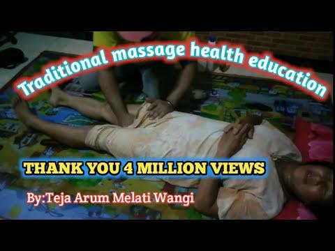 #Tulungagung #massage #urutperut 🔴Pijat Urut mama muda berdaster part 2
