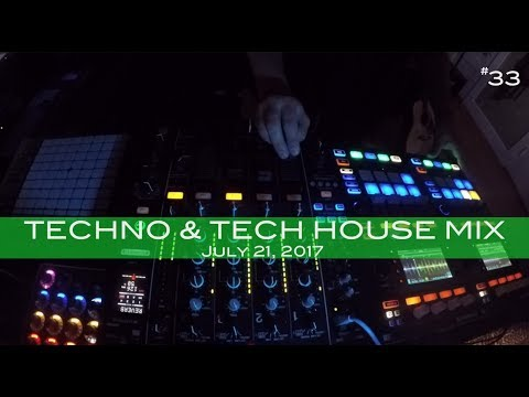 Techno & Tech House Mix Deep Underground House Dance July 21,  2017 60 Minutes