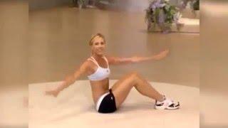 Фитнес в домашних условиях. Фитнес дома онлайн. Укрепление мышц живота для женщин