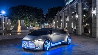 Mercedes Benz Vision Tokyo 2015 Concept Car Studie Voice over Cars News