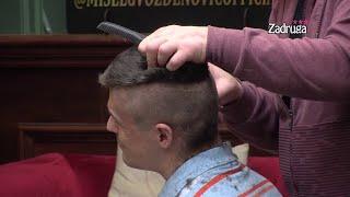 Zadruga 4 - Nikola se ne pomera dok mu Kristijan pravi novu frizuru - 12.01.2021.