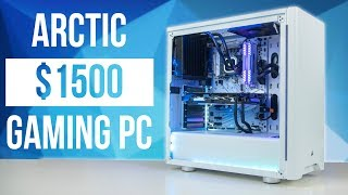 $1500 PURE WHITE GAMING PC With MSI B360 GAMING ARCTIC (GIVEAWAY)