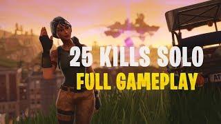 25 Kills Solo   Console - Fortnite Gameplay