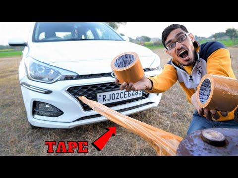 How Many Layers of Tape Can Pull a Car? |