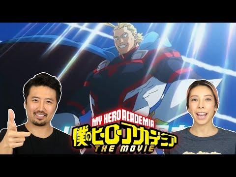 My Hero Academia  Two Heroes Movie 2018 REACTION!!