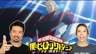 My Hero Academia  Two Heroes MovieTrailer 2018 REACTION!!