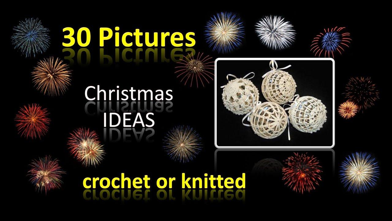 Häkeln Stricken Weihnachtsdeko Ideen Christmas Ideas 30 Bilder