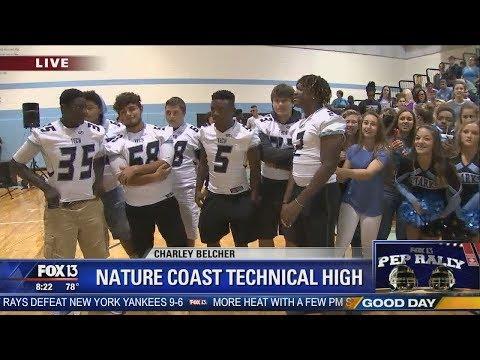 FOX 13 Pep Rally: Nature Coast Tech