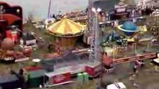 N Scale Model Circus Carnival