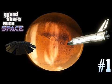 GTA 5 SPACE MOD #1 - Going to Mars, Aliens Attacking & MORE! (Grand Theft Space)