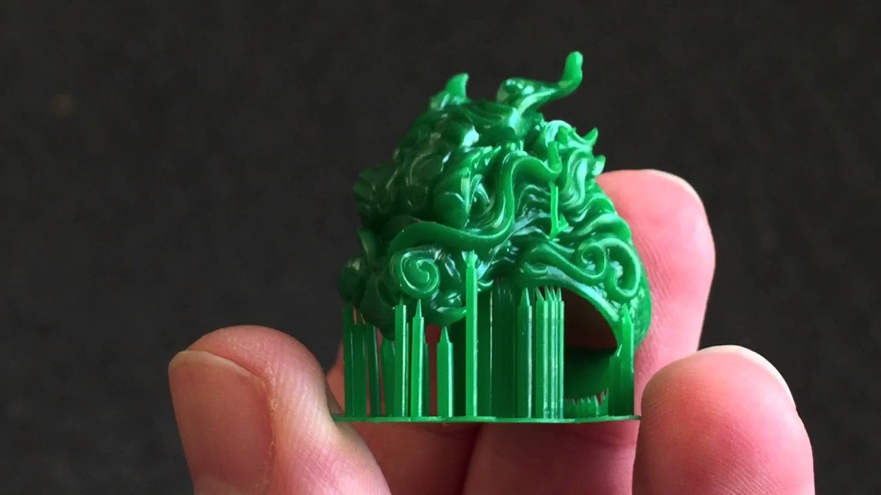 Dragon Ring Modeled By Nacho Riesco Printed On The Solus