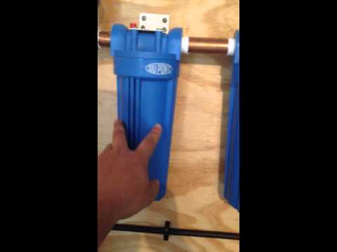 Cheapest Whole House Water Filter System For Under $800 Installed!