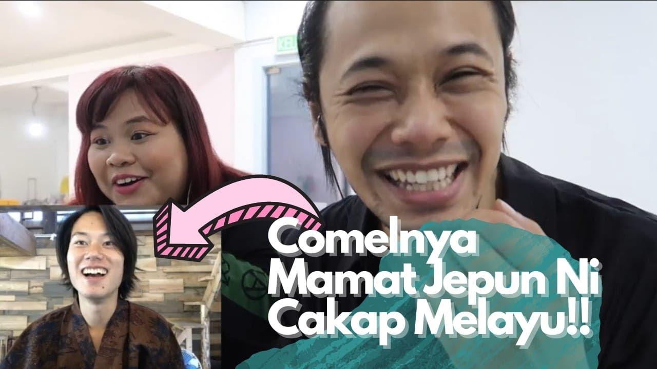 Download Comelnya Mamat Jepun Ni Cakap Melayu!   feat. Angker Sister, @Kouji Jepun