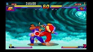 Street Fighter III Double Impact Gameplay(Dreamcast)