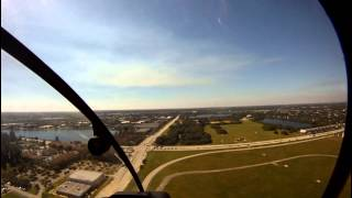 First Training Flight - Robinson 22 Helicopter