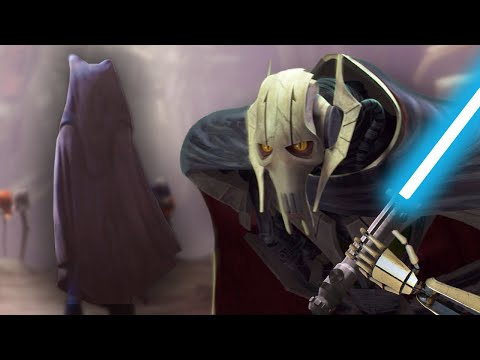 Grievous Adds Ahsoka's Lightsaber To His Collection