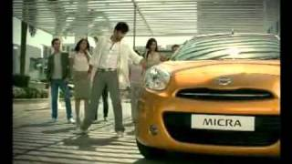 Nissan Micra India 2010 TV Commercial featuring -Intelligent Key System-.MP4