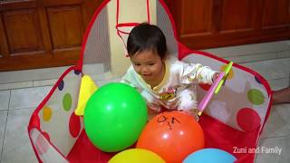 Drama Lucu Afsheena Menyusun Puzzle ABC SONG For Kids