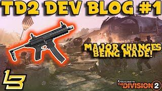 New Info! The Division 2 Dev Blog #1 (Breakdown)