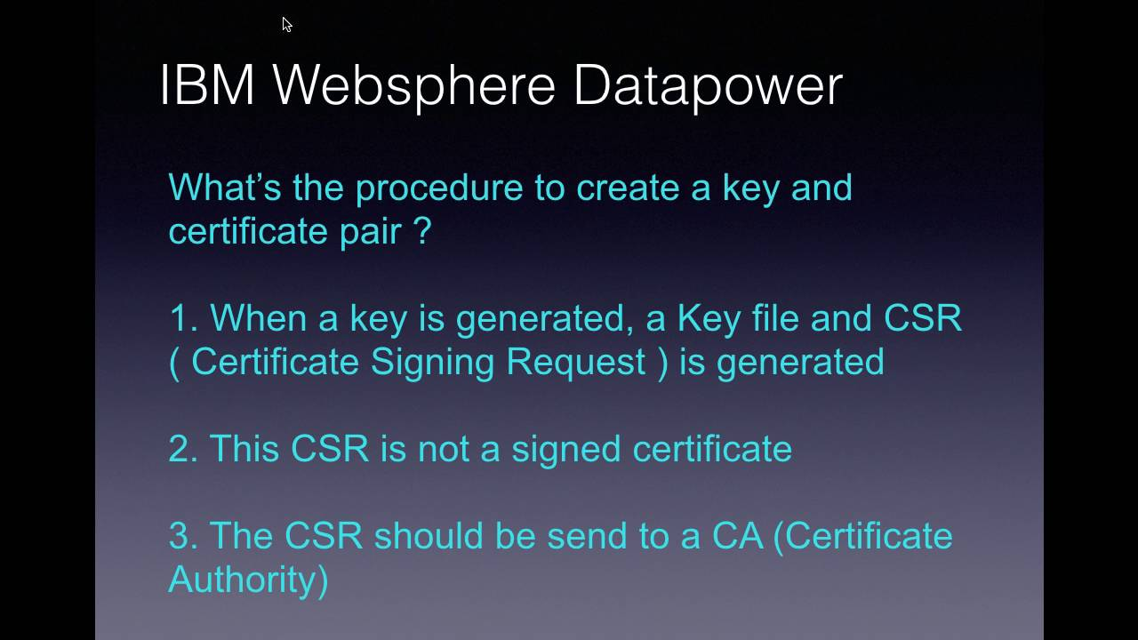 Ibm websphere datapower cryptographic tools video 11 youtube ibm websphere datapower cryptographic tools video 11 1betcityfo Images