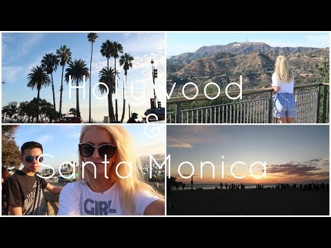 LA Vlog 1 | Hollywood & Santa Monica Beach
