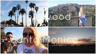 LA Vlog 1 | Hollywood & Santa Monica Beach