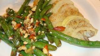 Sautéed Green Beans With Ginger & Sesame