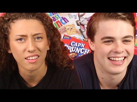 Australian Teens Try American Cereal