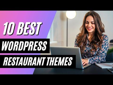WordPress themes restaurant responsive