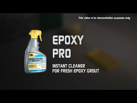 Fila Epoxy Pro - instant cleaner for fresh epoxy grout