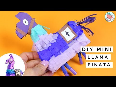 Loot llama Fortnite Battle Royal - DIY Upgrade Llama Pinata - REALLY WORKS!