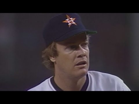 1986 NLCS Gm1: Mike Scott strikes out 14