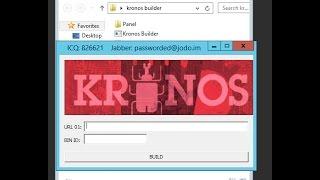 How to Setup Kronos Banking Botnet