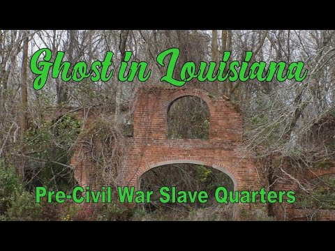 Ghost in Louisiana ( Laurel Valley Plantation) - YouTube