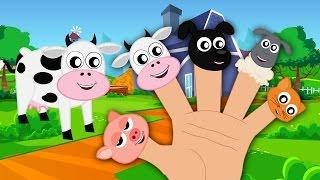 Animals Finger Family  Kids Song For Children  Nursery Rhymes For Babies
