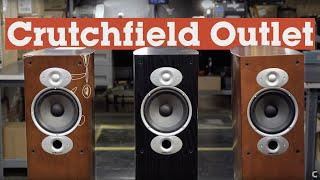 Shop the Crutchfield Outlet and save | Crutchfield video