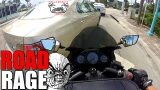 Road Rage...Car VS Motorcycle