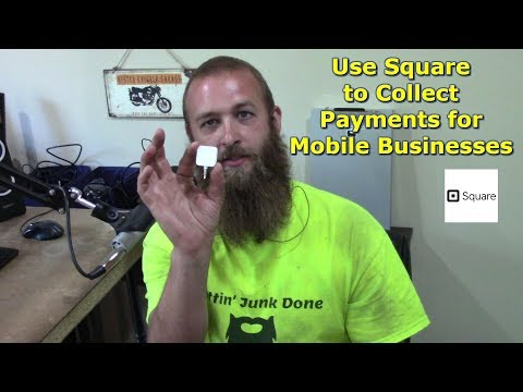 Using Square with a Mobile Business by @GettinJunkDone