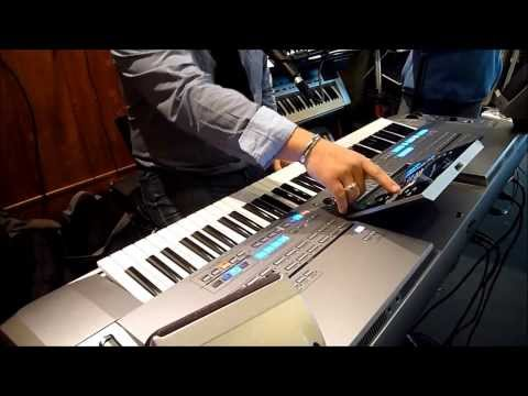 Yamaha Tyros 5 - Master Demo Espace Claviers - Part 2 - Piano & Electric Piano